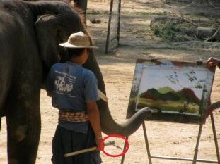 painting-elephant