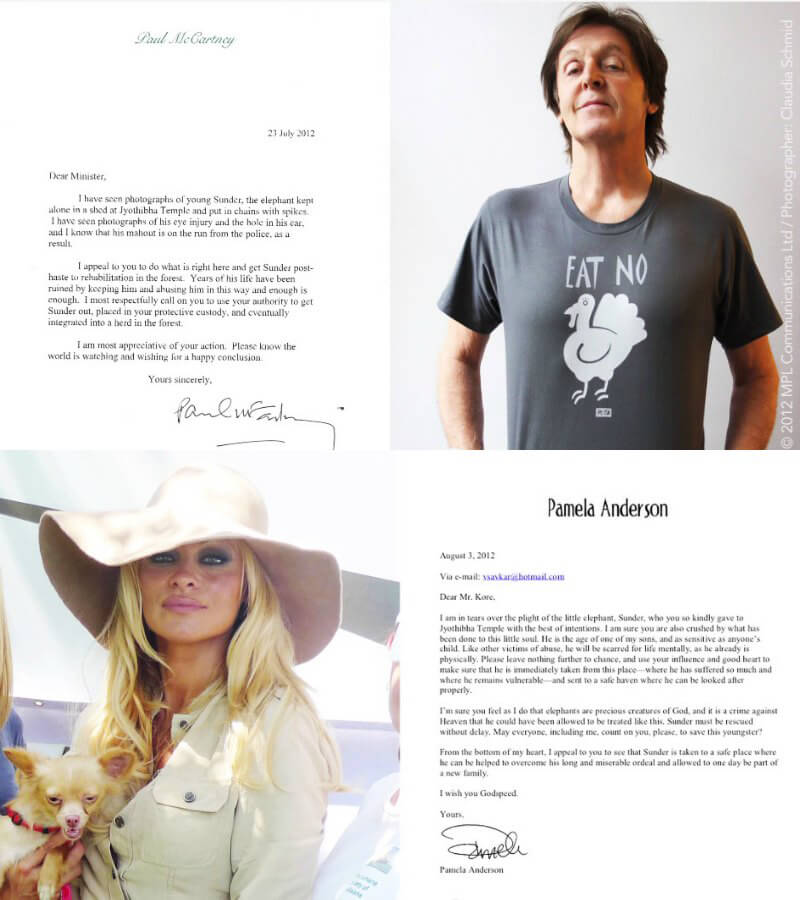 Paul-McCartney-and-Pamela-Anderson-Letters