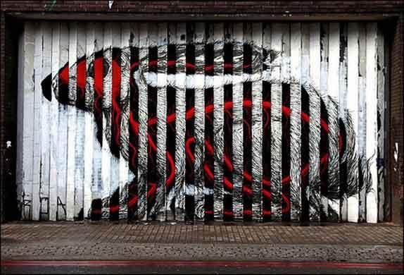 Lenticular Street Art